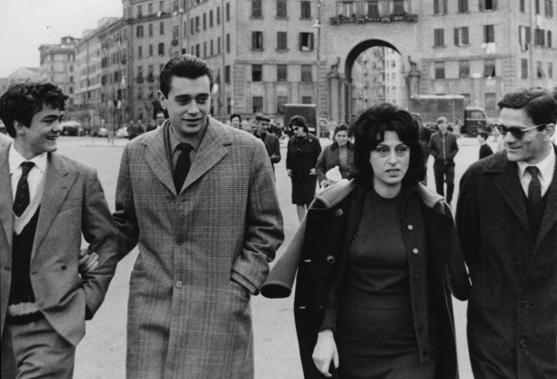 Di Carlo con Pasolini e Anna Magnani