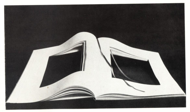 Vincenzo Agnetti, Libro dimenticato a memoria, 1969