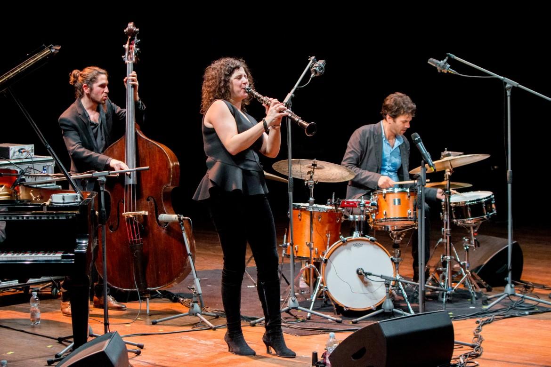Anat Cohen quartet, sotto Louis Moholo Moholo