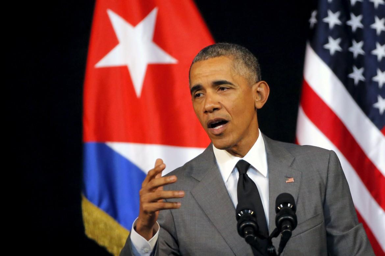 Obama durante il suo discorso ai cubani