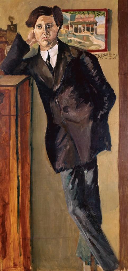 Alban Berg ritratto da Schoenberg