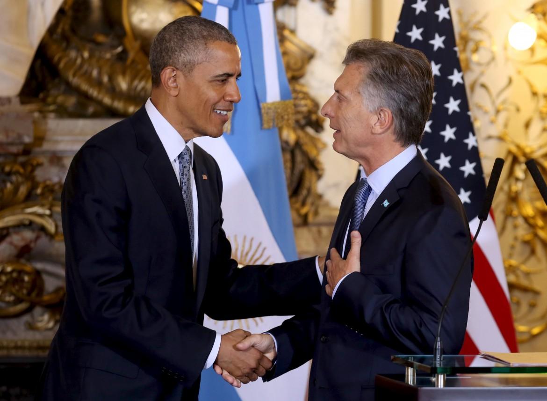 Obama e Macri
