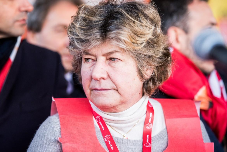 Susanna Camusso, segretaria generale della Cgil