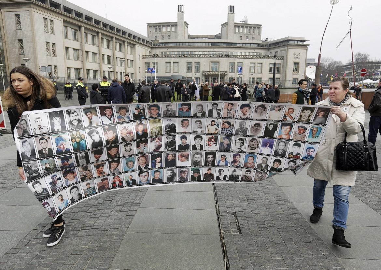 All'Aja la manifestazione contro Karadzic