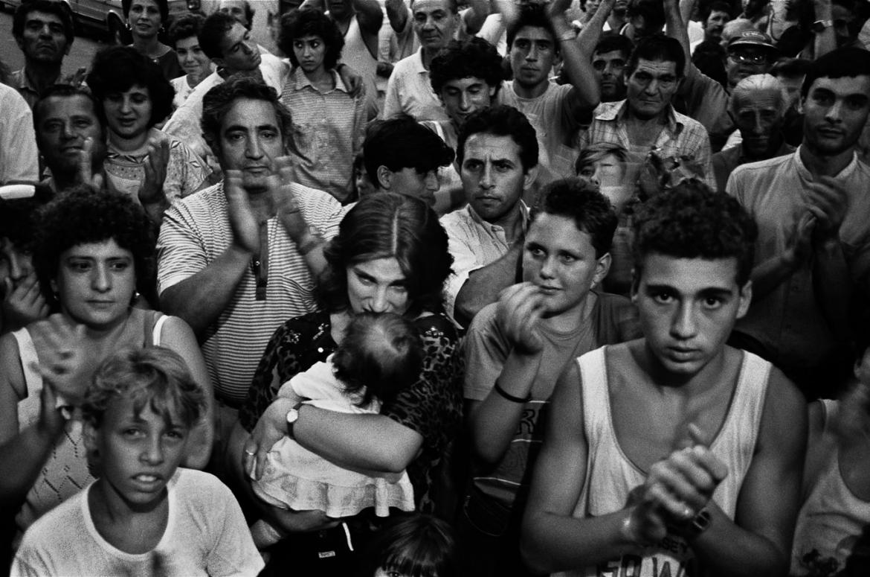 Uno scatto della fotografa siciliana Letizia Battaglia
