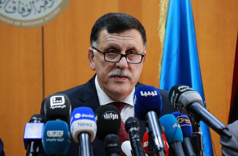Il premier del Gna di Tripoli, Fayez al- Sarraj