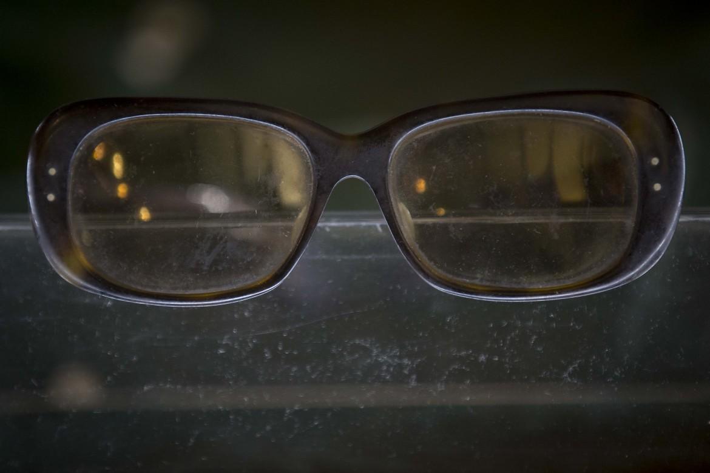 Gli occhiali di Pasolini esposti l'anno scorso per il quarantennale dell'omicidio al museo criminologico nazionale