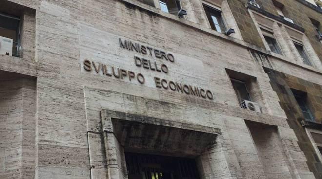 L'ingresso del ministero dello Sviluppo