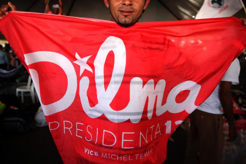 Brasile, sostegno a Dilma Rousseff