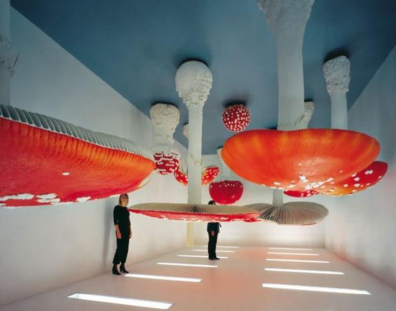 «Upside Down Mushroom Room», 2000