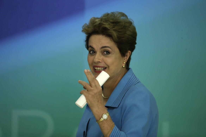 La conferenza stampa di Dilma