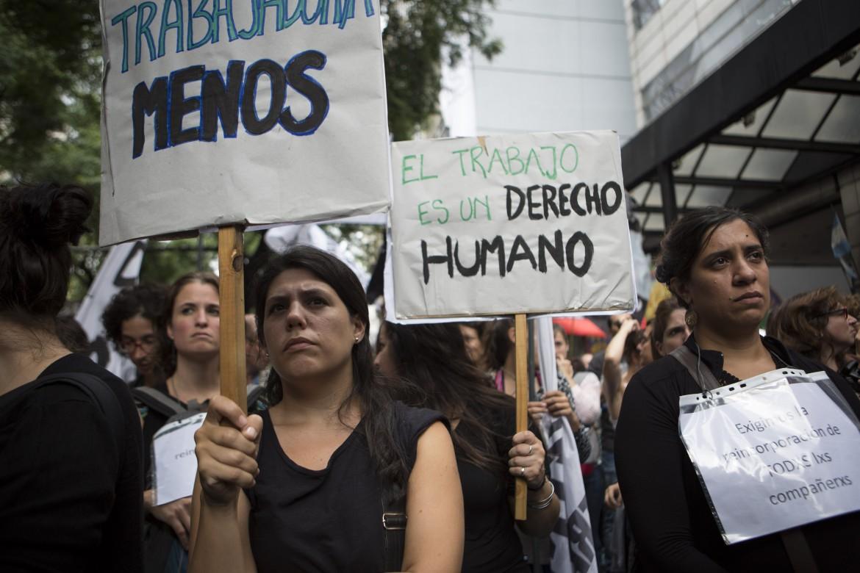 Argentina, la marcia delle donne
