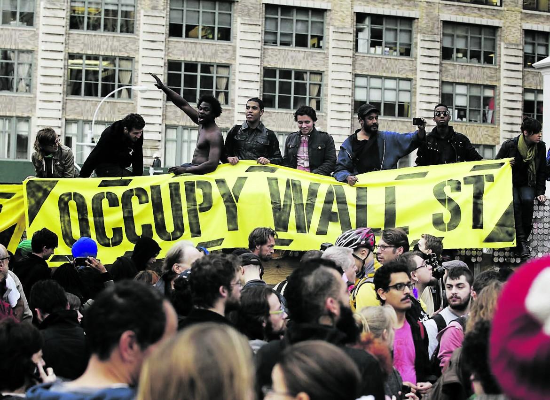 Quando Occupy cap la forza del sostegno pubblico ai giornali