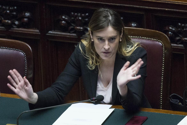 La ministra Boschi