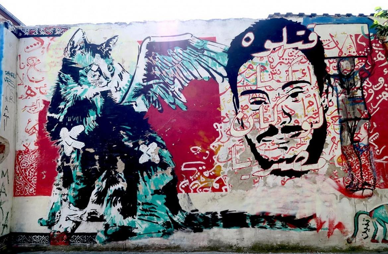 Murales al Cairo