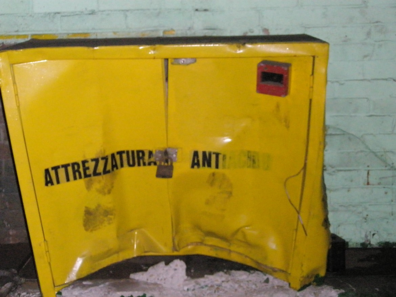 Thyssen Krupp: l'armadietto della vergogna