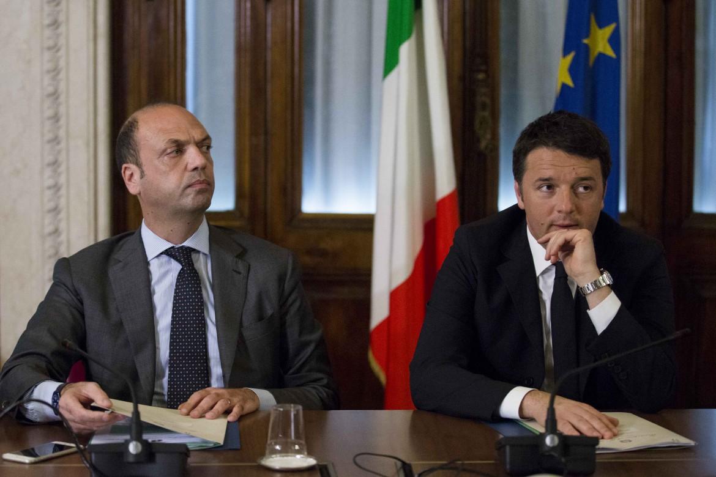 Alfano e Renzi