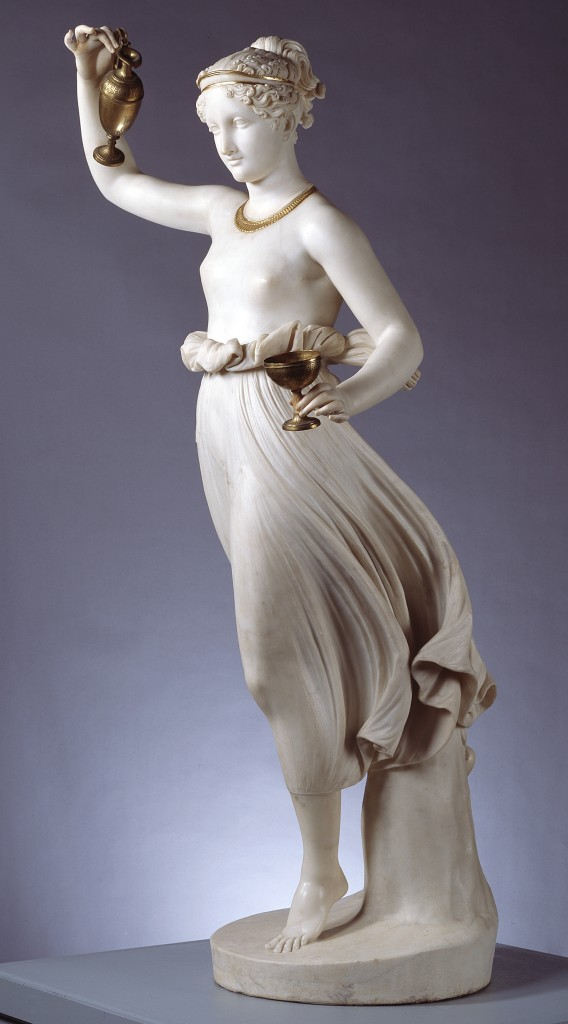 Antonio Canova, «Ebe», Berlino, Nationalgalerie
