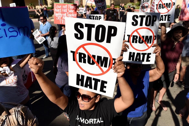 La protesta a San Diego