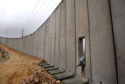 Il Muro israeliano in Cisgiordania