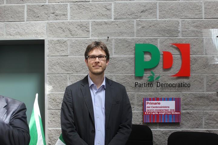 Lorenzo Zambini, candidato Pd a sindaco a Sesto Fiorentino