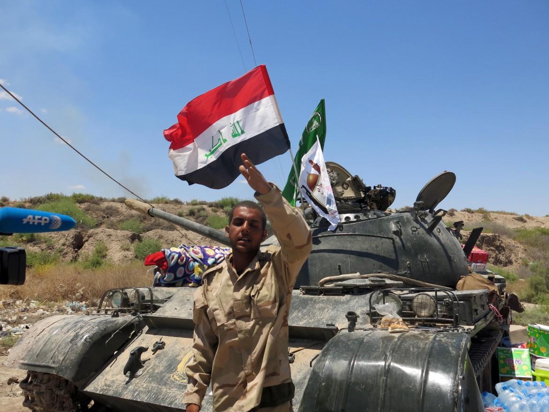 Un carroarmato iracheno
