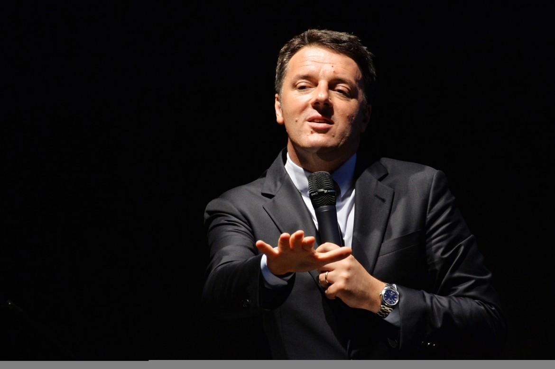 Matteo Renzi a Milano per la campagna di sindaco di Giuseppe Sala