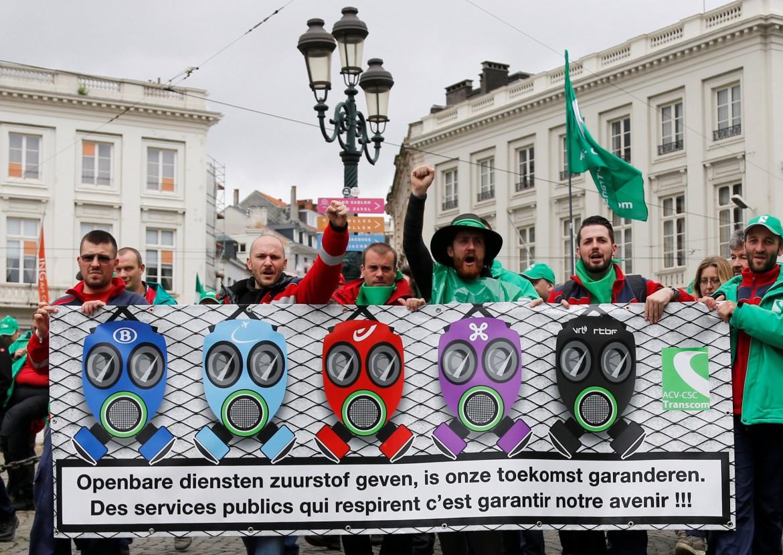 Proteste in Belgio contro la legge sul lavoro