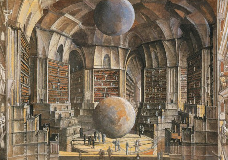 Borges Library of Babel