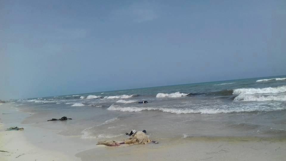 Corpi rinvenuti in Libia sulla spiaggia di Zuwara