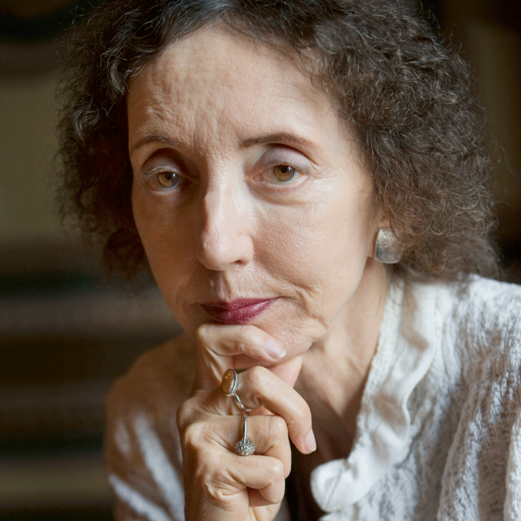 Joyce Carol Oates, fotografia di Leif R Jansson