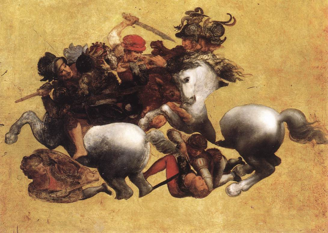 Una copia della Battaglia di Anghiari di Leonardo (o Tavola Doria)