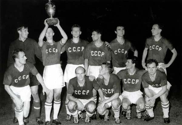 Urss nel  1960 vince il primo Europeo di calcio
