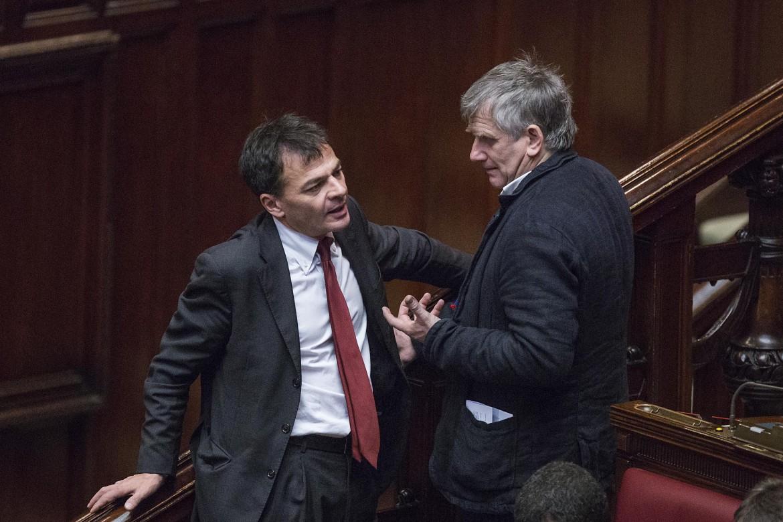 Candidati: Stefano Fassina e Giorgio Airaudo
