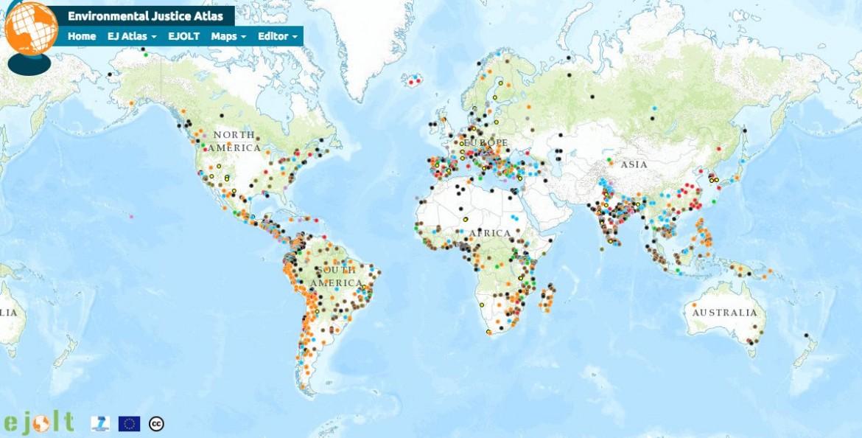 Mappa dei conflitti ambientali