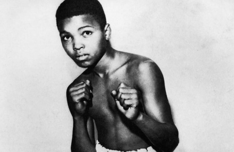 Un giovanissimo Muhammad Ali