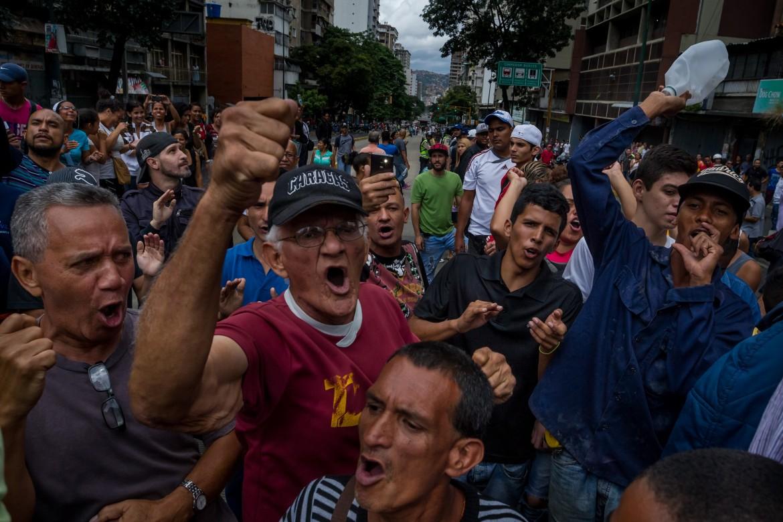 Caracas, manifestazione contro il governo Maduro
