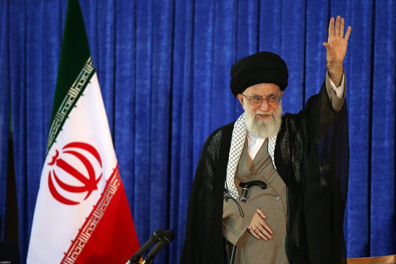 Nella foto Khamenei