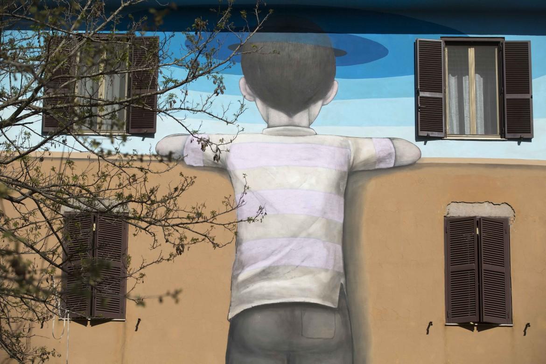 Street Art a Tor Marancia, Roma