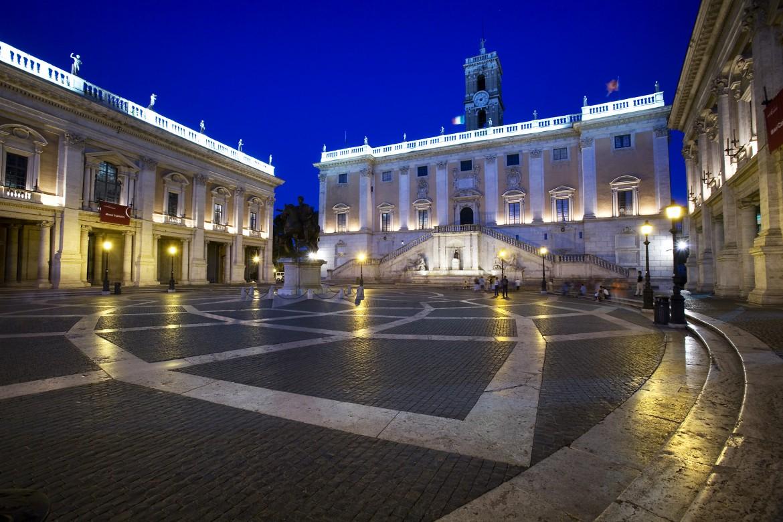 Roma, piazza del Campidoglio