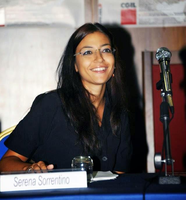 La nuova segretaria della Funzione Pubblica Cgil, Serena Sorrentino