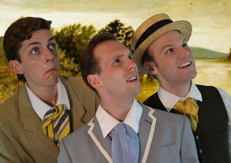Una pièce tratta da «Three Men in a Boat» di Jerome K. Jerome, Pea Green Theatre Group's Production, foto Ottawa Fringe