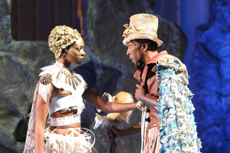 Una scena dalla «Tempesta»,  al Classic Theatre di Harlem