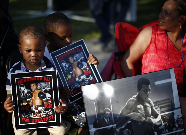 I funerali di Muhammad Ali a Louisville
