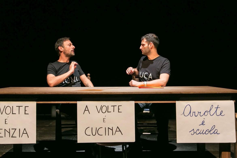 Tindaro Granata e Paolo Li Volsi, nella foto sotto con Angelo Di Genio