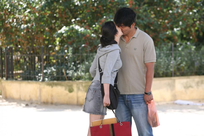 una scena dal film Night and day di Hong Sang-soo