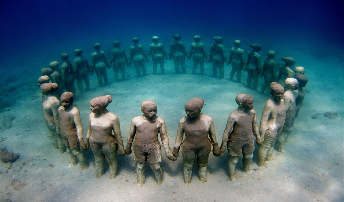 Museo subacqueo Lanzarote (Canarie)