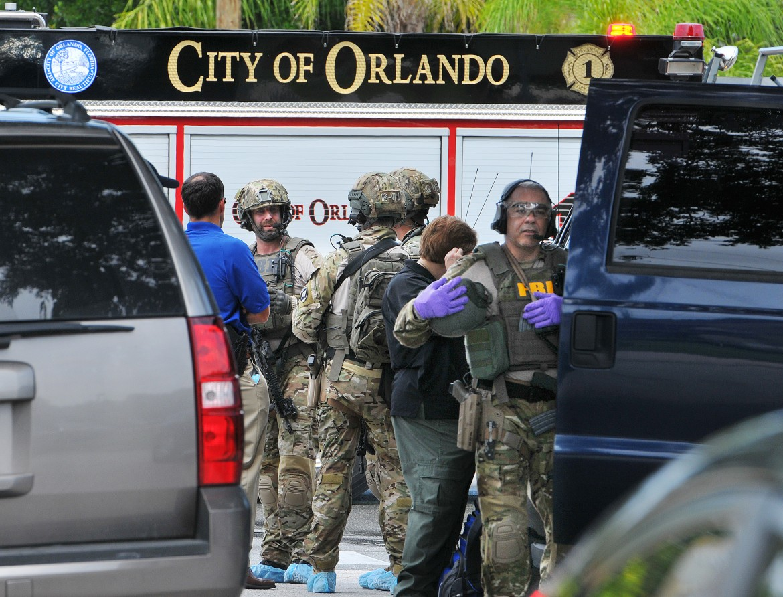 La polizia a Orlando