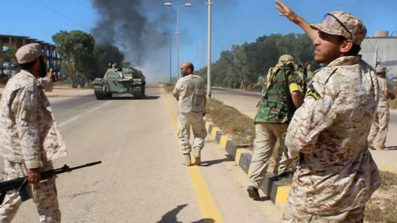 Esercito libico nei pressi di Sirte