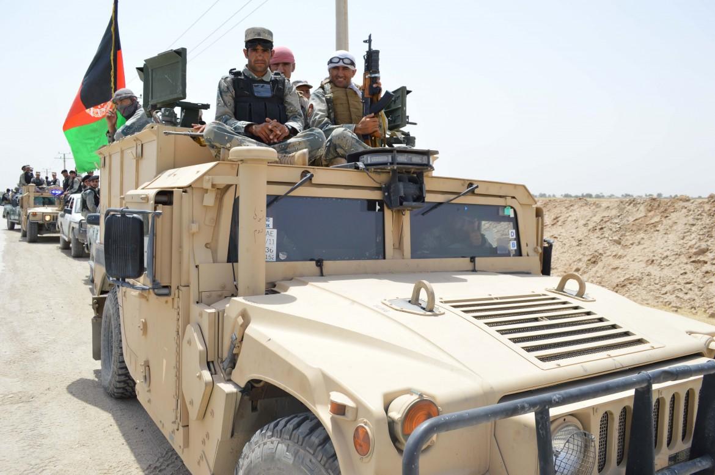 Militari afghani a Kunduz